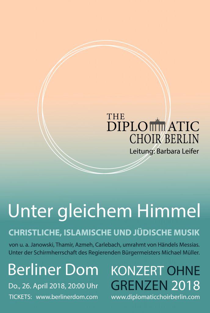 Diplomatischer Chor Berlin-Unter gleichem Himmel